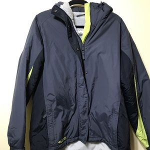 Xlg Columbia winter coat with hood